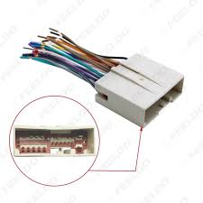 feeldo car accessories official store car radio cd player wiring Aftermarket Stereo Wiring Harness Diagram picture of car radio cd player wiring harness audio stereo wire adapter for ford install aftermarket
