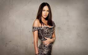 2830216 Megan Fox Brunette Simple Background Women Celebrity Actress