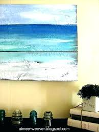 canvas beach wall art for bathroom trendy best of lovely large contemporary uk