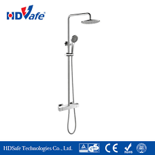 bathroom fitting modern shower room faucet with manual shower mixer valve pictures