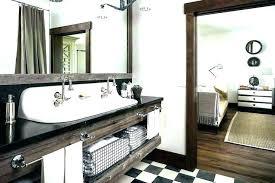 reclaimed bathroom furniture. Reclaimed Wood Bathroom Cabinet Furniture Accent Wall .
