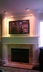 custom fireplace entertianment center