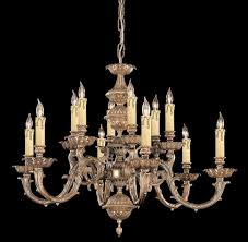 lights cast brass candle chandelier chandeliers solid old round candelabra wrought iron holder small hanging antique crystal ceiling light