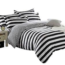 black and white striped duvet. Brilliant Striped Striped Duvet Cover U0026 2 Pillowcases Set Quilt Bedding Bed Set Black  And White Throughout And