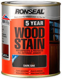 Ronseal Varnish Colour Chart Ronseal 5 Year Woodstain