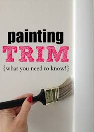 painting trim what you need to know