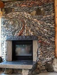 fire rock fireplace interior stone fireplace swirl design elegant and creative design