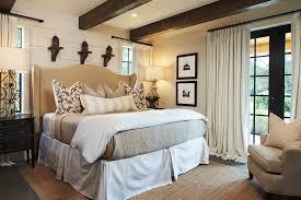 Bedroom Drapery Ideas Bedroom Rustic With Beige Armchair Beige Beadboard.  Image By: Giana Allen Design LLC