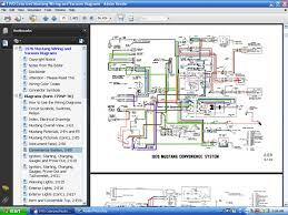 forelpublishing com digitally able ford service manuals screenshot of a colorized wiring diagram