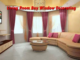 large bay window in the living room