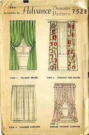 Curtain Sewing Patterns Interesting Vintage Pattern Warehouse Vintage Sewing Patterns Vintage Fashion