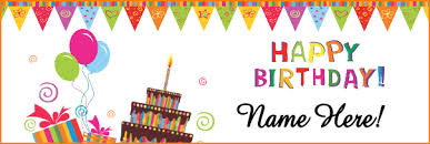 Happy Birthday Sign Templates Happy Birthday Banner Template Barca Fontanacountryinn Com