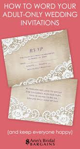 best 25 winery wedding invitations ideas on pinterest blush Running Themed Wedding Invitations etiquette states that the best way to communicate an adult only wedding is by properly Medieval Wedding Invitations