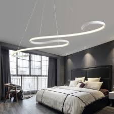 suspended lighting. Twisted Snake Suspended Lighting Fixture - Remote Controlled Modern Ceiling Lamp At Lifeix Design