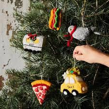 new york felt ornaments for christmas