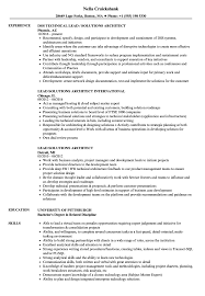 Solutions Architect Resume Lead Solutions Architect Resume Samples Velvet Jobs 8