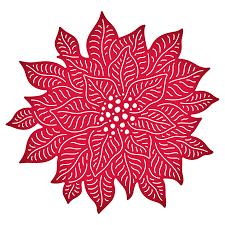 Poinsettia Designs Cheery Lynn Dies 3d Poinsettia