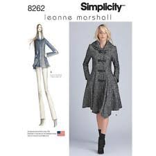 Coat Sewing Patterns Cool Simplicity Leanne Marshall Coat Or Jacket For Misses Sewing Pattern