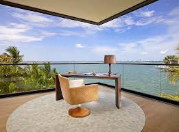 outside home office. Cool Home Office Brings The Sights And Sounds Outside Indoors! [Design: Saccaro USA