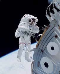 space exploration history definition facts com u s space shuttle astronaut michael lopez alegria floating in space outside the unity module of