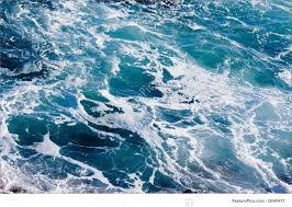 Ocean Water Background Deep Blue Ominous Image 0 For Creativity Design