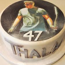 Serge Crozons Wife Prepares A Special Cake For Ajith Birthday
