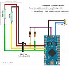 building a nmea wind instrument me tions nmea wind circuit v4