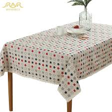 stylish idea decorative table cloths romorus modern star lace rectangular kitchen covers home tablecloths dining party tea