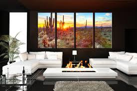 living room art 4 piece canvas wall art scenery multi panel art saguaro on cactus wall art nz with 4 piece large canvas scenery huge pictures saguaro cactus artwork