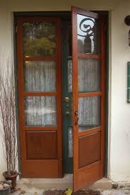 French Doors Wooden Blinds Interior Exterior Energoresurs