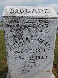 Estella Evans McCabe (1871-1940) - Find A Grave Memorial