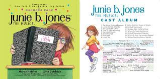 Unfortunately, the songs are not in the script due to my inability to add staffs to a word document. Junie B Jones Musical Cast Album Goldrich Heisler