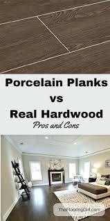 porcelain flooring pros and cons