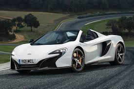 Used 2015 McLaren 650S Spider Convertible Pricing - For Sale | Edmunds