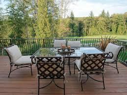 furniture luxury aluminum outdoor furniture with square white black striped aluminum table combine black white