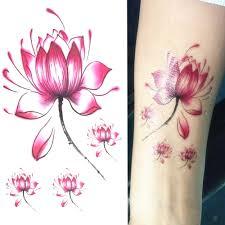 Tomtosh 1 шт водонепроницаемый одноразовые наклейки татуировки
