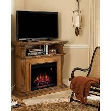 corinth electric fireplace premium oak