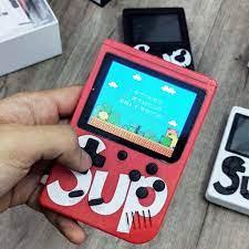 Máy Chơi Game Cầm Tay Sup 400 trò chơi + tăng 2 giá đỡ điện thoại chiếc  nhẫn