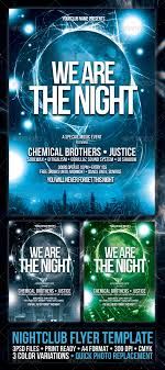 Nightclub Flyer Poster Template | Night Club Fliers