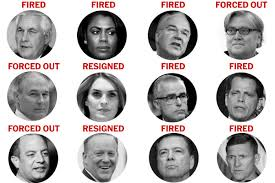 Trump Administration Departures Chart The Turnover At The Top Of The Trump Administration The