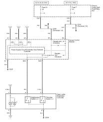 Acura rl wiring diagram instrument panel l s part 2