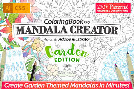 Coloring Book Pro Garden Edition Plug Ins Creative Market