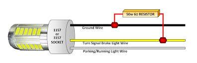 led resistor wiring wiring data • cabin bright 50 watt 6 ohm resistor kit for led taillights rh cabinbright com led resistor installation led wiring resistor calculator