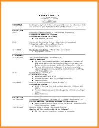 5 6 Example Resume For Medical Assistant Wear2014 Com