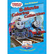 Coloring book train painting games thomas page hallo lovers thomas this time has been present coloring page games that can educate your child at a young age. Jumbo Coloring Book Thomas Friends 6 Movie Coloring Collection Paperback Walmart Com Walmart Com