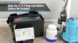 home little giant franklin electric little giant battery backup system