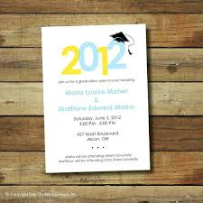 Invitation To Open House Awesome Graduation Party Invitations Open House Or Graduation Party