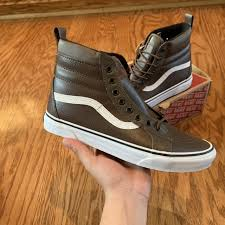 manueldeleon 5 days ago chambersburg united states brand new brown leather vans sk8 hi
