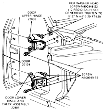 exterior door hinge pin removal. 2006 toyota truck 4 runner 4wd 7l efi dohc 8cyl repair exterior door hinge pin removal g