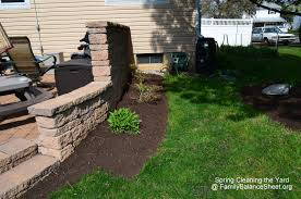 I also need to figure out what we are going to plant under our bay window.  It has been a problem area ever since we re-did our landscaping in 2007.